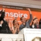 Inspire team on NYSE bell podium