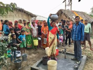 Inspire water well in Birendranagar, Nepal