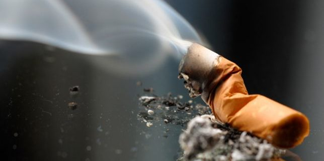 tobacco stocks burn