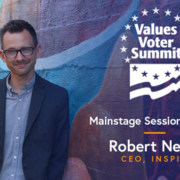 Robert Netzly, CEO - Inspire Investing, Mainstage Session Speaker at the 2018 Values Voter Summit