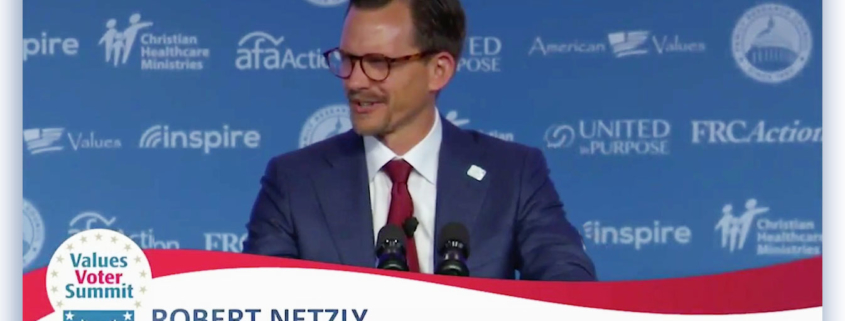Robert Netzly's speech at VVS18